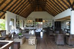 Tree Camp Lodge in Londolozi Game Reserve, South Africa