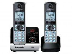 Telefone Sem Fio Panasonic 1 Ramal Ident. de Cham. - DECT 6.0 Digital Indic. Inteligente - KX-TG6722LBB