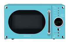 Blue Microwave Oven Deawoo Turquoise Digital Microwave