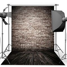 ANVOT Photography Backdrop 5 x 7 FT/1.5 x 2.1 M Retro Bri...