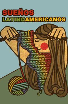 Sueños latinoamericanos. Cartel chileno.