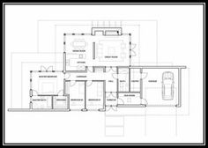 One Story House Plans 2020 sq ft. is the top selling house plans available. This is the large-scale version of the more popular house plans that can be One Floor House Plans, Beach House Plans, House Plans One Story, Shop House Plans, Cottage House Plans, Country House Plans, Modern House Plans, Story House, Modern House Design