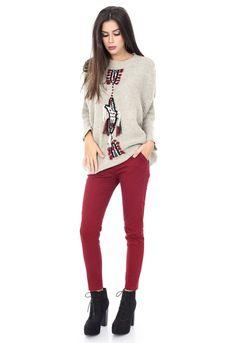 Pulover Bej cu model - BR1147 Graphic Sweatshirt, Sweatshirts, Sweaters, Fashion, Moda, Fashion Styles, Trainers, Sweater, Sweatshirt