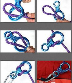 35kn figure 8 rock #climbing rope #descender safey rappelling #belay equipment ge, View more on the LINK: http://www.zeppy.io/product/gb/2/222069631487/