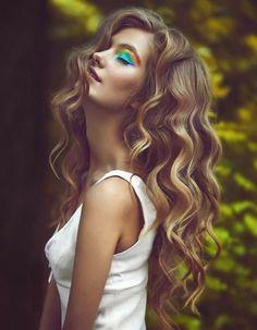 Cheveux fins ondulés printemps-été 2015