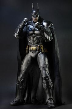 toyhaven: Check out the upcoming NECA Quarter Scale Batman: Arkham Knight 18-inch tall action figure Batman Armor, Batman Arkham Knight, Batman The Dark Knight, Batman Vs Superman, Batman Suit, Batman Robin, Gotham City, Dc Comics, Dark Knight