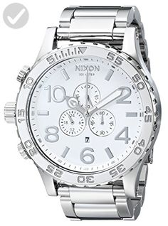 cf39b6d9534 Nixon Men s A083488 51-30 Chrono Watch - Mens world ( Amazon Partner-