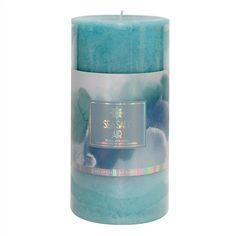 Sea Salt Air Pillar Candle