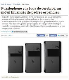 Puzzlephone y la fuga de cerebros : un móvil finlandés de padres españoles / @hojaderouter | #sci #tech #inn #nonosvamosnosechan #sinciencianohayfuturo