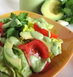Hecka-Good Recipes - A Collection of Gluten Free (and mostly Dairy Free) Real Food Recipes: Dairy Free Creamy Cilantro Lime Dressing (or Dea...