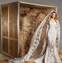 أنت نجمة بفساتين زفاف زهير مراد لربيع 2015 - نصف الدنيا
