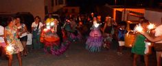 Caballos Fuscos - Esta celebración tiene lugar en agosto, en  las Fiestas de La Vendimia en el municipio de Fuencaliente. La Palma