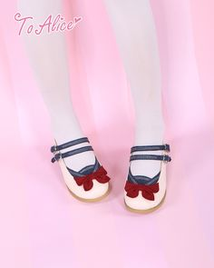 [To Alice] Z010- Navy doll shoes - Taobao
