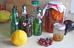 Kombucha second ferment adds lovely flavors and additional fizz to the Kombucha.