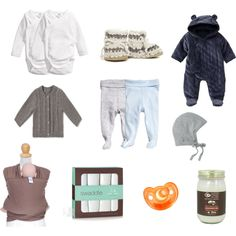 Newborn essentials, mini zara, moby wrap, H&M baby, pilot hat, aiden & anais, gum drop pacifier, coconut oil, padraig slippers, gap baby, kimono onesie, footed pants