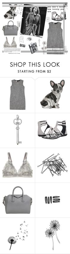 """Gray"" by alongcametwiggy ❤ liked on Polyvore featuring Valentino, Judith Leiber, Kendall + Kylie, STELLA McCARTNEY, H&M, Givenchy, BOBBY and Pennyblack"