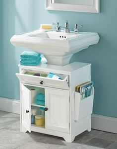 These space saving ideas are perfect for the small bathrooms often found in historic homes.