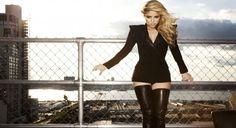 Shakira - All Black Everything Widescreen HD Wallpaper Shakira, Aquarius, Latina Magazine, Celebrity Magazines, Glamour Photo, All Black Everything, Blazer Dress, Celebs, Celebrities