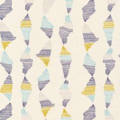 136402 Reflect | Blue Quilter's Cotton from Rain Walk by Anna Graham for Cloud9 Fabrics