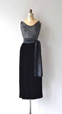 Marquise Kleid-Perlen Jahrgang 1950 s Kleid Perlen von DearGolden