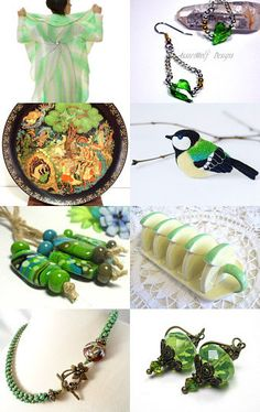 Go for the Green by Tommye on Etsy--Pinned with TreasuryPin.com