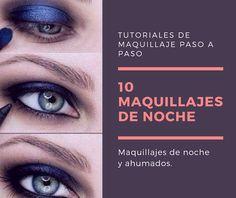 No Solo DIY: 10 Maquillaje de ojos ahumados para la noche