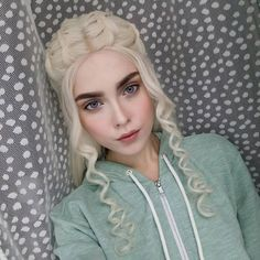 "6,034 Likes, 52 Comments - Ilona Bugaeva cosplay&makeup (@sladkoslava) on Instagram: ""WHERE ARE MY DRAGONS? #costest #wip #daenerys #daenerystargaryen #gameofthrones #got #got7…"""