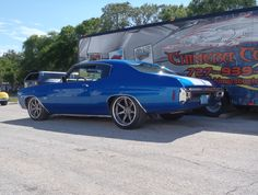 Richie's incredible '70 Chevelle, by Chimera Customs, is powered by a 540ci big block mated to a Tremec 5-speed and rides on RideTech stage 2 coilovers, Wilwood disc brakes, and Continental 245/45R18 & 275/40R19 tires on 18x9 & 19x10.5 Forgeline CV3C Concave wheels finished with Gunmetal centers & Polished outers! See more at: http://www.forgeline.com/customer_gallery_view.php?cvk=1671  #Forgeline #CV3C #ConcaveWheels #notjustanotherprettywheel #madeinUSA #Chevrolet #Chevy #Chevelle