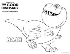 the good dinosaur | crafts for kids | pinterest | butches and babies - Dinosaur Printable Coloring Pages