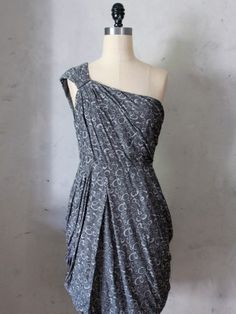 Midnight Swirl Dress