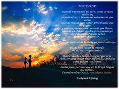 No desistas - Rudyard Kipling
