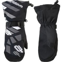 Arctiva Ravine Insulated Youth Snowmobile Sled Skiing Winter Sports Mitten