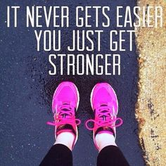 Fitness Motivation Station Exercise inspirational quotes. You're getting stronger