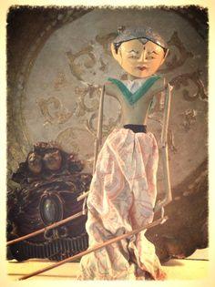 Vintage Indonesia Puppet Doll/ Vintage Ethnic by DareToBeVintage, $60.00