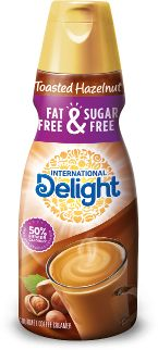 Fat-Free & Sugar-Free Toasted Hazelnut  This is now my new favorite flavor. I used to like the french vanilla but its been moved down to second place. Of course Toasted Hazelnut is if FIRST PLACE now. #GotACoupon #GotItFree