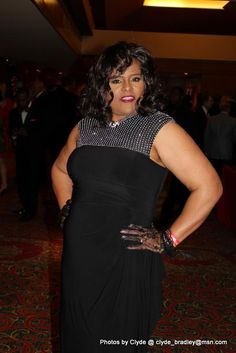 Workin' that gown at Red Dress Affair February 2015