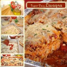 Super Easy Lasagna Recipe