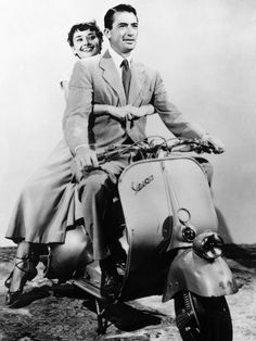 So cute…Audrey Hepburn & Gregory Peck