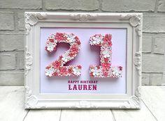 Unique cadeau danniversaire 21 21e anniversaire 21 idée