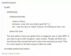 So true, dresses make everything so much easier sometimes, especially for fancy occasions
