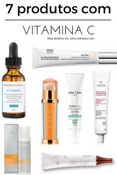 Por que usar vitamina c na pele - como usar vitamina c. produtos com vitamina c.