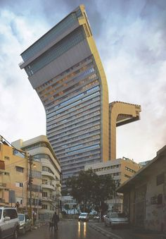 Victor Enrich is a Spanish photographer who rips all the science from architecture to create surreal and whimsical variations on existing buildings. A tower unzips, a road goes straight up, and multi-story slides protrude from balconies. These buildings cannot possibly exist, but in a sense, they do. #experimentsinmotion