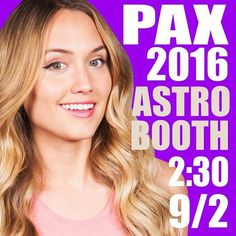 WEBSTA @ thenaomikyle - Just a heads up for this coming Friday if you want to meet and greet meeeee. 😆 #NaomiEverywhere #paxwest2016