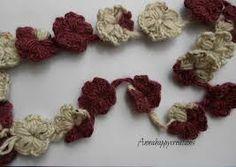 Risultati immagini per collane di lana all'uncinetto tutorial
