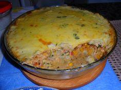 Receita de Torta de batata com frango - Tudogostoso