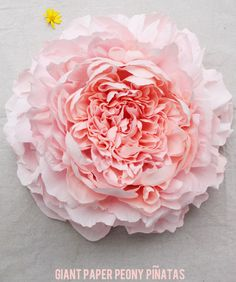 Crepe paper Peony - tutorial by Tiffanie Turner