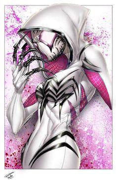 Spider gwenom art . Spider-Man