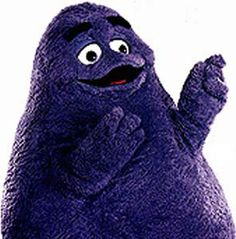 McDonalds - Grimace...who came up with these characters? :O