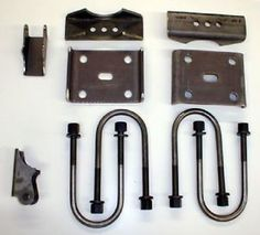 """ford 88 axle swap kit for 1987 1995 yj - Categoria: Avisos Clasificados Gratis  Item Condition: NewInstallation Kit for 19871995 YJ's No paint This Ford 88 install kit includes the following items: 2 weldon antiwrap style spring mounts for the housing, 4 Ubolts, 2 Ubolt plates, 2 weld on shock mounts All hardware is unpaintedProduct DetailFeatures of our Ford 88 install kit are as follows: same lug nut bolt pattern; disc brakes 95 & newer; 31 spline axle shafts; 88"""" diameter ring gear D35 is…"""