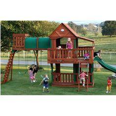 Adventure Playsets Woodridge Swing Set